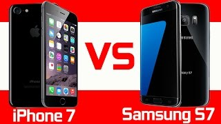 Apple iPhone 7 vs Samsung Galaxy S7 - Full Comparison(Here is our full specs comparison between the Apple iPhone 7 vs the Samsung Galaxy S7. Watch iPhone 7 Plus vs Samsung Note 7: ..., 2016-09-07T22:59:59.000Z)