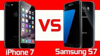 Apple iPhone 7 vs Samsung Galaxy S7 - Full Comparison