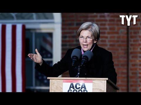 Elizabeth Warren Declares Support For Single Payer Healthcare