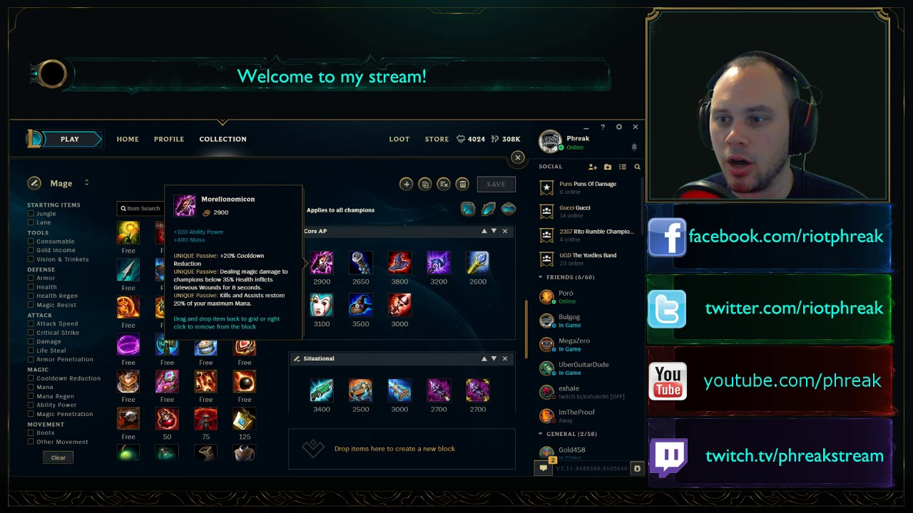 Image Result For How To Make Custom Builds In League Of Legends