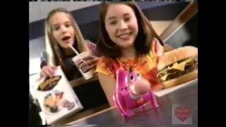 Burger King | Television Commercial | 2000 | Kids Meal | Flintstones Viva Rock Vegas