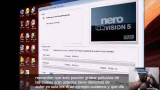 Aprende a grabar tus movies en dvd con nero 8.avi