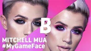 #MYGAMEFACE MAKEUP TRANSFORMATION ft Mitchell MUA | Beauty Bay