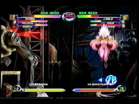 MvC2 Online (360): Brett (MSP) vs Flapp (Rogue/Cable/Tron) 1 .:9.10.09:.