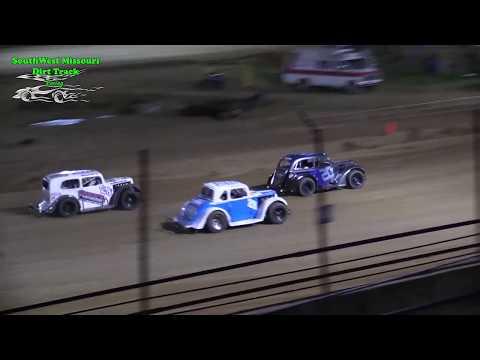 INEX Missouri Dirt Legend Car Heat Races - @ Lebanon Midway Speedway 5-11-2018