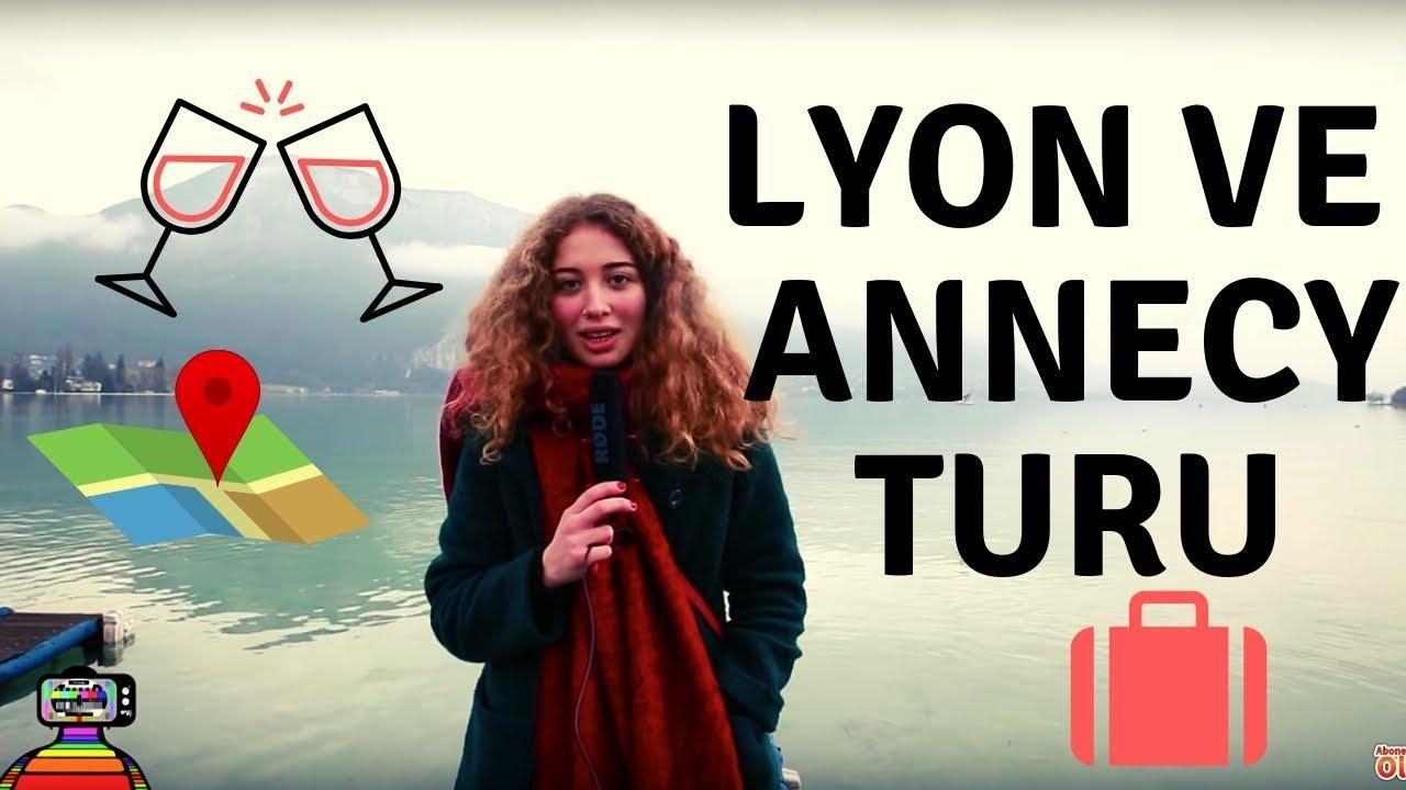Fransa'da gezilecek yerler Lyon & Annecy  | VIP Haftasonu Kaçamağı