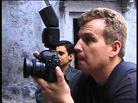 Portrait Benoit Lange Photographe Réal. Maurizio Giuliani - Genève