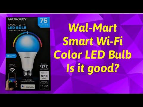 Cheap LED Solutions | Wal-Mart Smart Wi-Fi LED Bulb