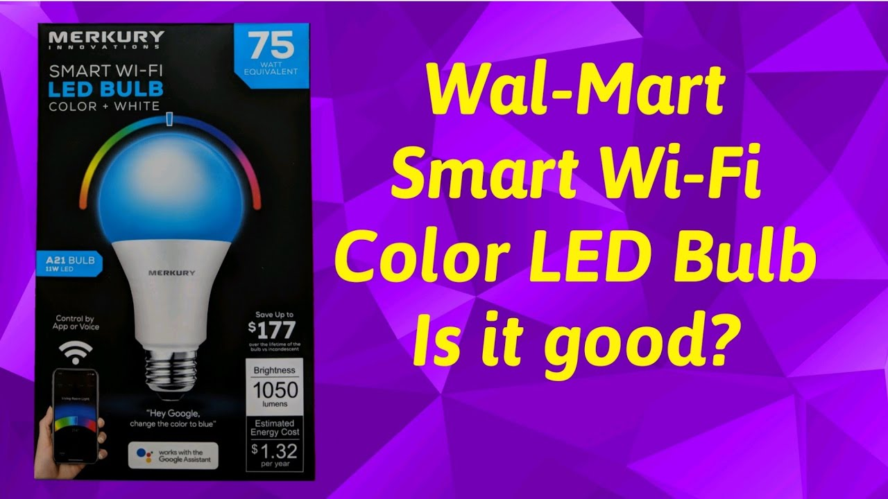 Led Lights At Walmart Cheap Led Solutions Wal Mart Smart Wi Fi Led Bulb
