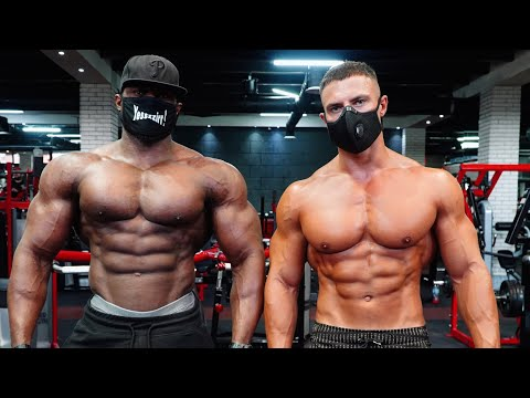 Chest & Tricep Workout With Andrew Jacked