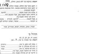 Уроки иврита с Броней текст к уроку 8 и упражнения с разбором грамматики