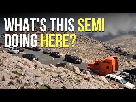 HIGHEST Paved Road in North America: Mt Evans, Colorado