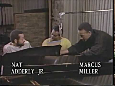 1986 - Luther Vandross - Rehearsal with Marcus Miller & Nat Adderly Jr
