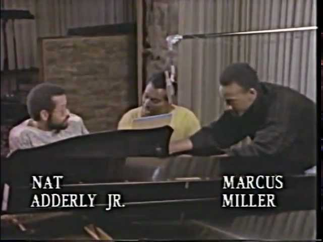 Luther Vandross | Rehearsal with Marcus Miller & Nat Adderly Jr | 1986