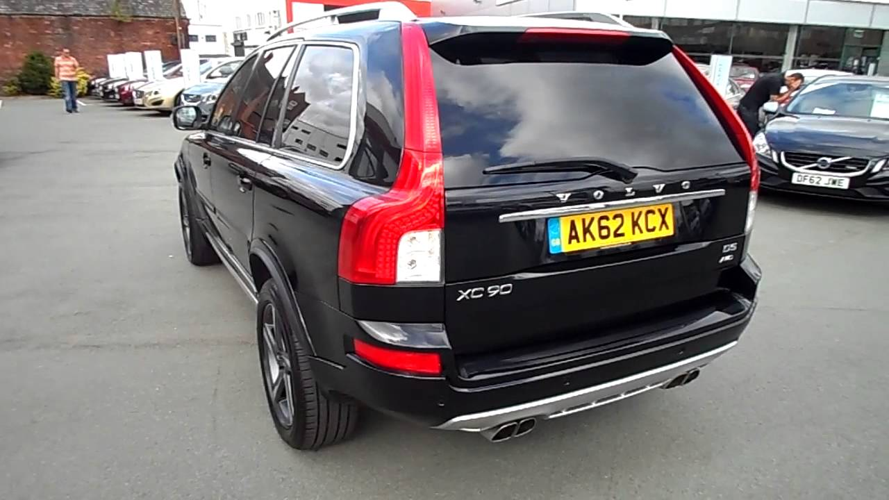 rybrook volvo xc90 d5 r design youtube. Black Bedroom Furniture Sets. Home Design Ideas