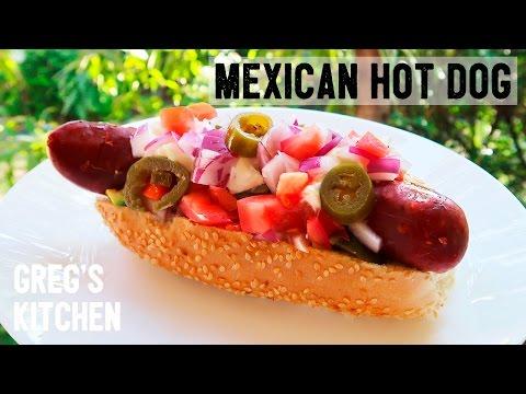 LOADED MEXICAN HOTDOG RECIPE - Greg's Kitchen