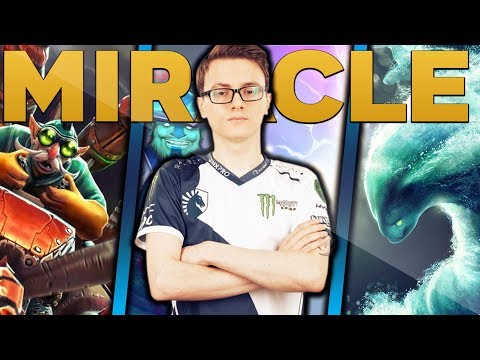 Miracle- Is Back To Solo Ranked With His Main Account - Rampage Like M-GOD - EPIC Gameplay Dota 2