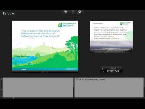 Graeme Blick: GNSS Activities in New Zealand - UNAVCO Science Seminar