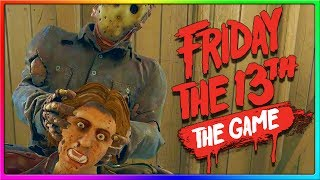 THE COUNSELORS ARE SAVAGE! | Friday the 13th Game Jason Gameplay