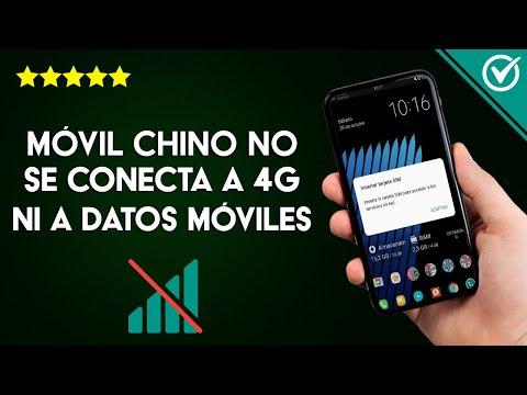 Mi Móvil Chino no se Conecta a 4G y no Puedo Activar los Datos Móviles