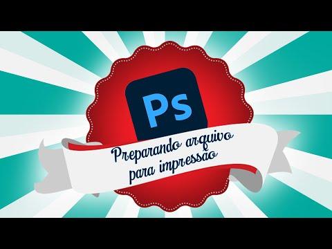 Preparando um arquivo para impressão no Photoshop - Marcas de corte e registro.