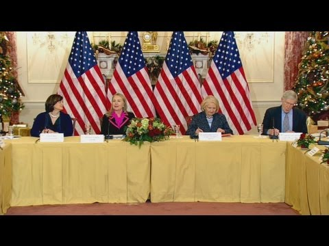 Secretary Clinton Delivers Remarks at the International Council on Women