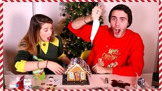 Making A Gingerbread House With Alfie | Zoella