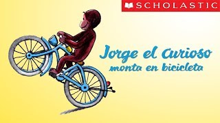 Scholastic's Curious George Rides a Bike (Español)
