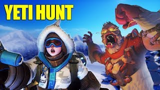 Trapping The Yeti! NEW Overwatch Game Mode!