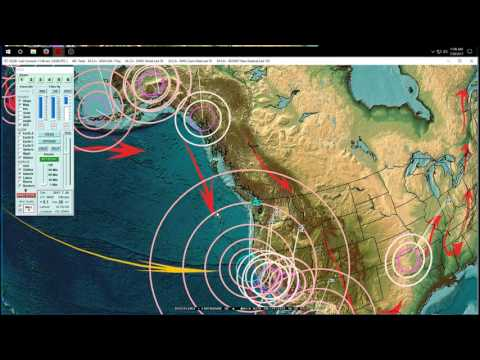 7/29/2017 -- United States, West Coast, Midwest Earthquake update -- New unrest brewing = Keep watch