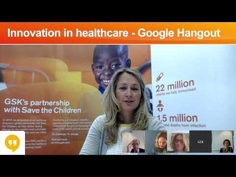 GSK & Save the Children: An innovative partnership - Google Hangout on Air