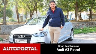 Audi A3 Petrol Test Drive Review - Autoportal
