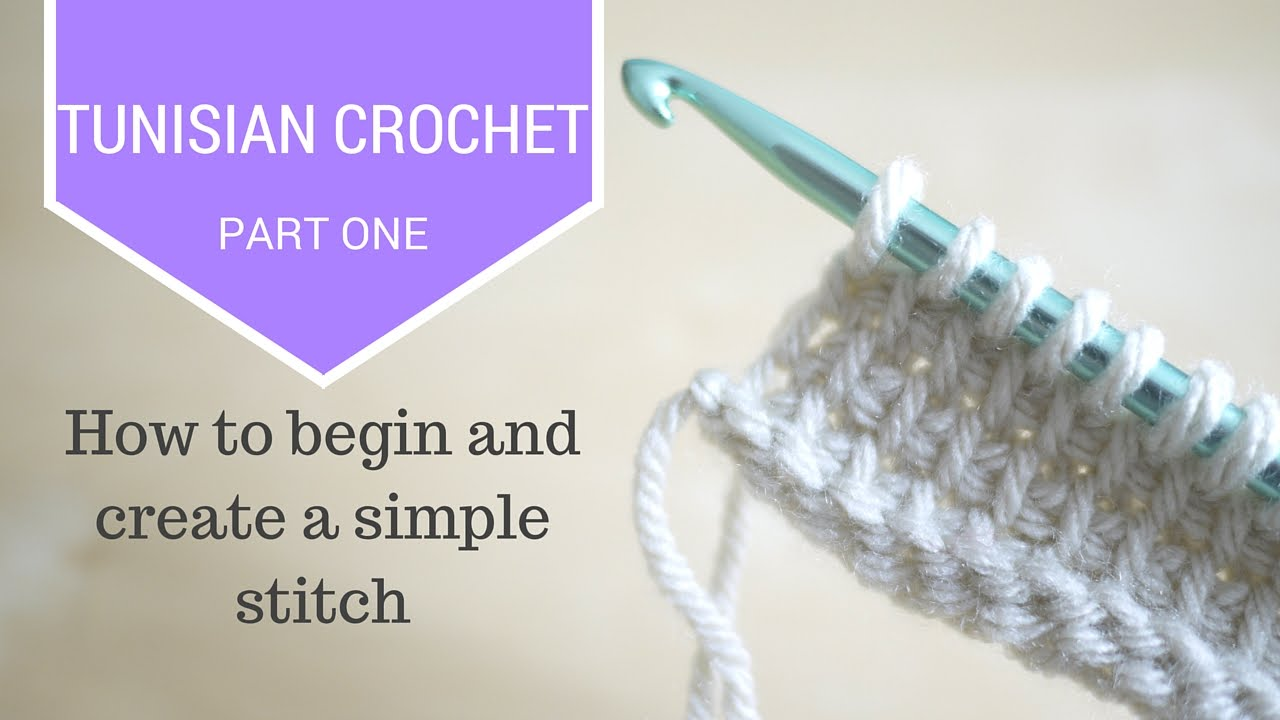 Crochet Tunisian Crochet Part One Bella Coco Youtube