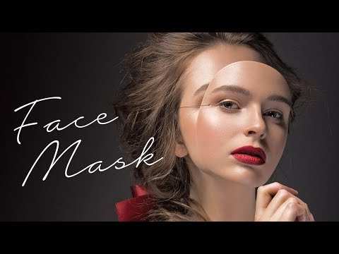 Photoshop: How to Create a Face Mask Photo Portrait.