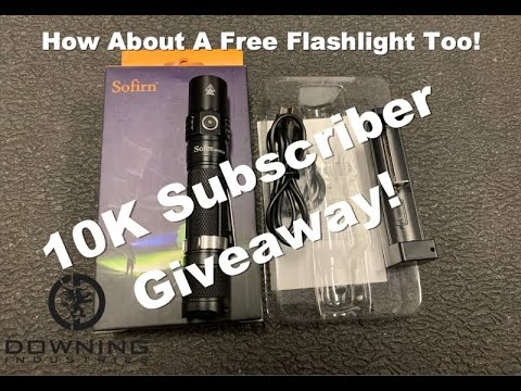 10K Subscriber Giveaway! Sofirn Flashlights and more!!