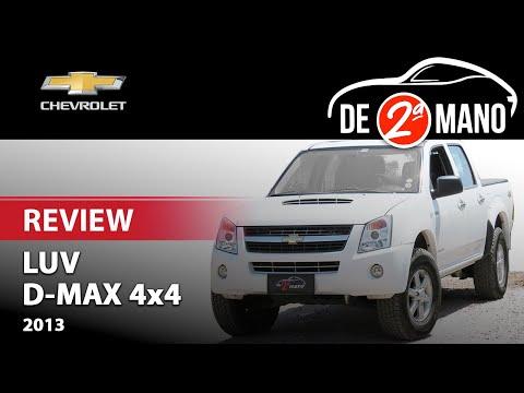 Review De La Chevrolet D-Max 4x4 Año 2013