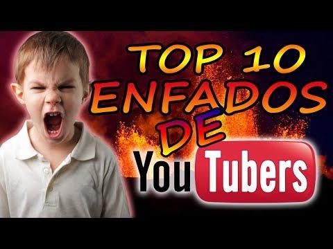 TOP 10 MAYORES ENFADOS DE YOUTUBERS!