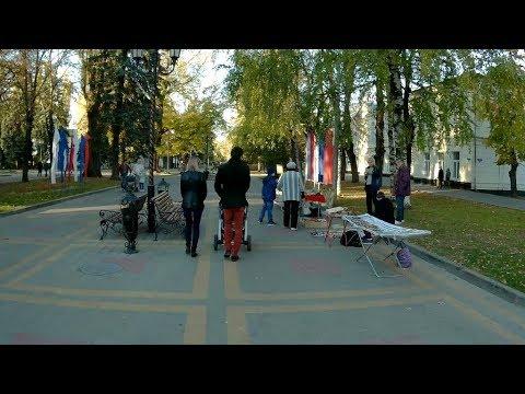 Ставрополь.От улицы Мира до Крепостной горы по проспекту Октябрьской революции.