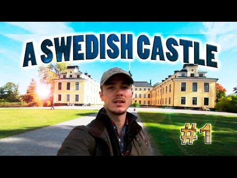 MORNING WALK TO A CASTLE IN STOCKHOLM, SWEDEN