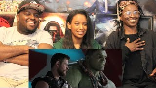 """Thor: Ragnarok"" Official Trailer REACTION + THOUGHTS!!!"