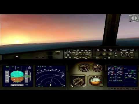 FSX HD COMPLETE FLIGHT FROM COLOMBIA TO PANAMÁ