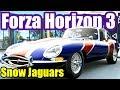 Jaguar XJ220 E-Type S1 XJ-S | Blizzard Mountain | Forza Horizon 3 | Online Forzathon Gameplay