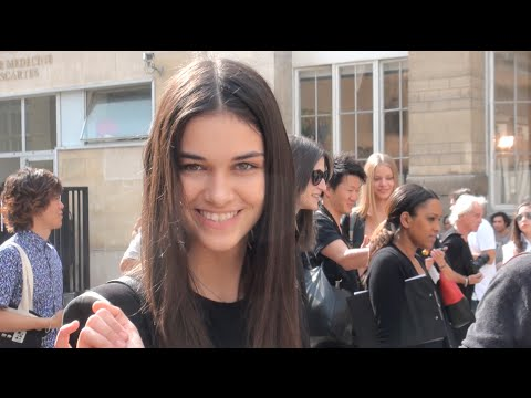 Fashion Week Paris 2016 2017 SOME MODELS From 25 09 2013 to 26 09 2013