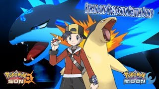 Pokemon Sun and Moon: Ethan Vs Silver (Ethan Typlosion Battle Bond)