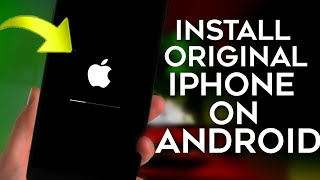 Real iPhone System Install On Android Complete 100%✓True Method || No Fake