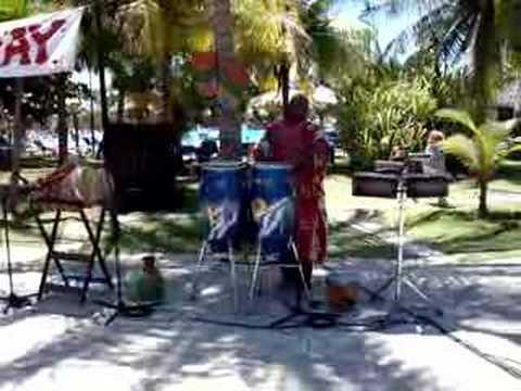amazing conga player in Varadero Cuba