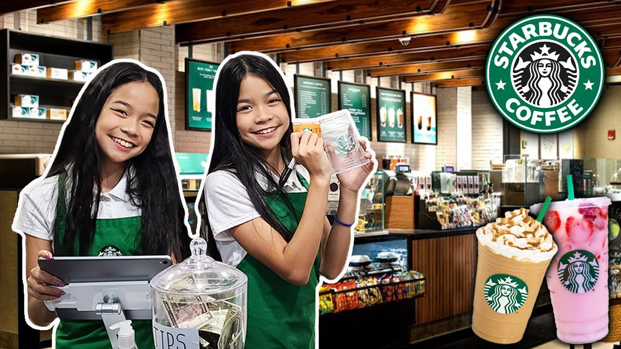 Download We OPENED Our Own STARBUCKS At Home! | Tran Twins