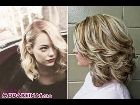 Peinados media melena youtube - Peinados de fiesta media melena ...