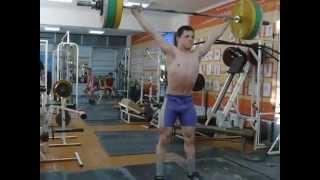 Тяжёлая атлетика Самылов Слава, 16 лет Рывок 90 вк 69 кг