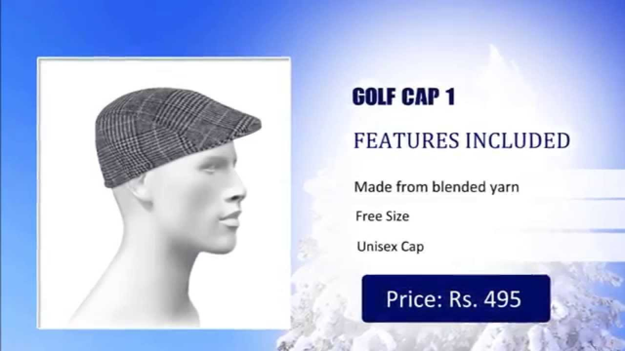 9621cdb5d79 Winter Golf Caps Online Shop in India - Buy Winter Golf Cap   Hats ...